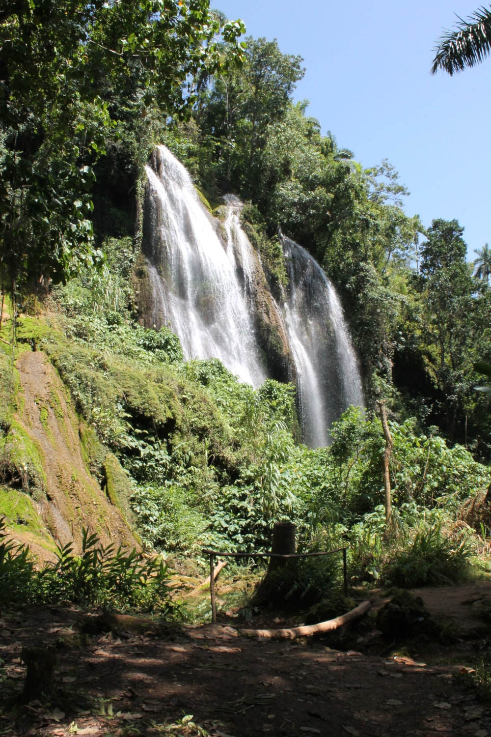Waterval in Topes des Collantes