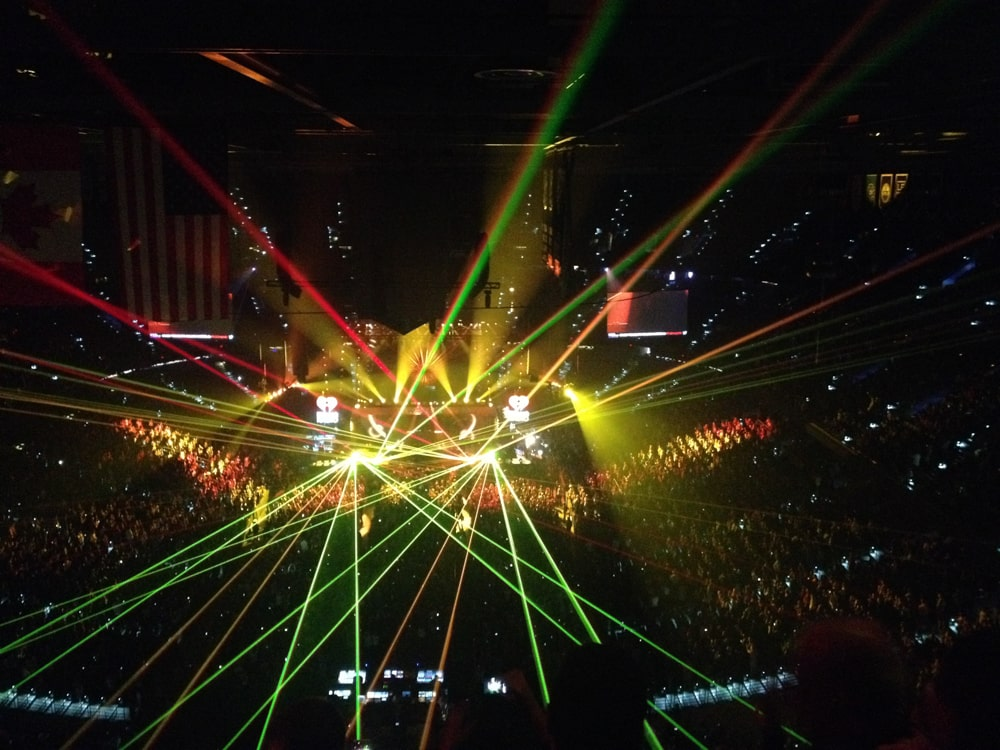 Jingle Ball in Amelie Arena
