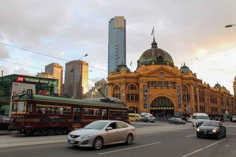 Free walking tour in Melbourne