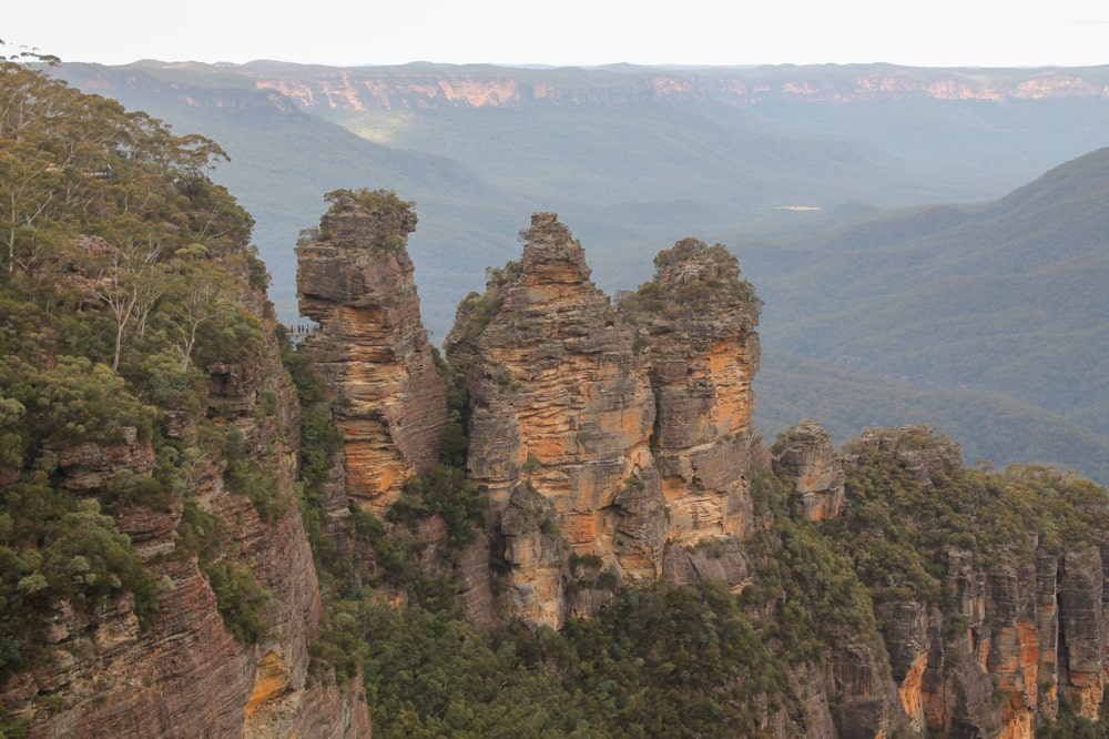 Three Sisters in de Blue Mountains