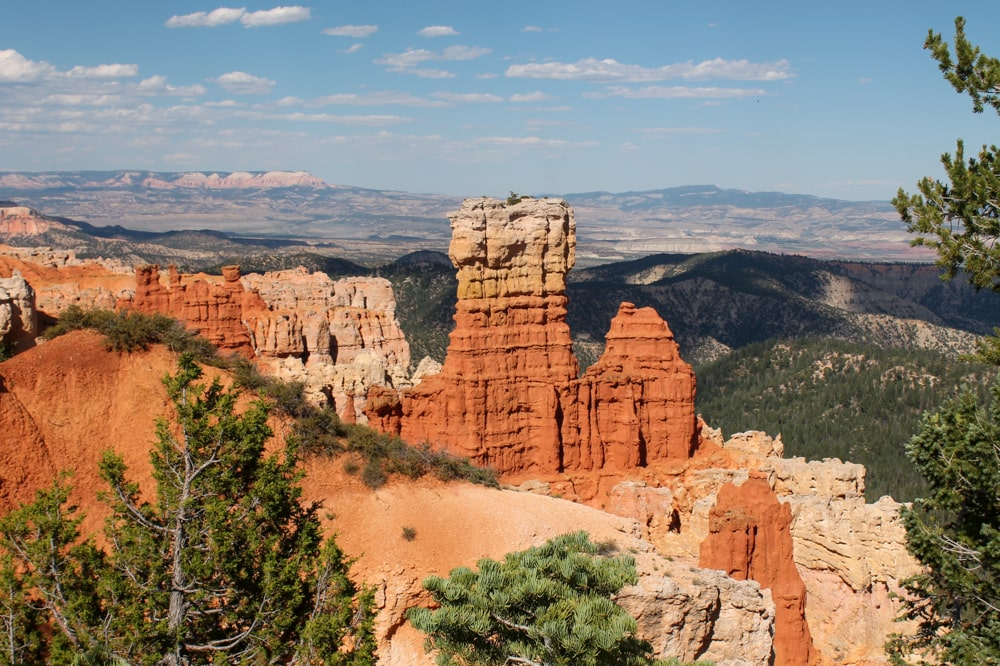 In Bryce Canyon National Park
