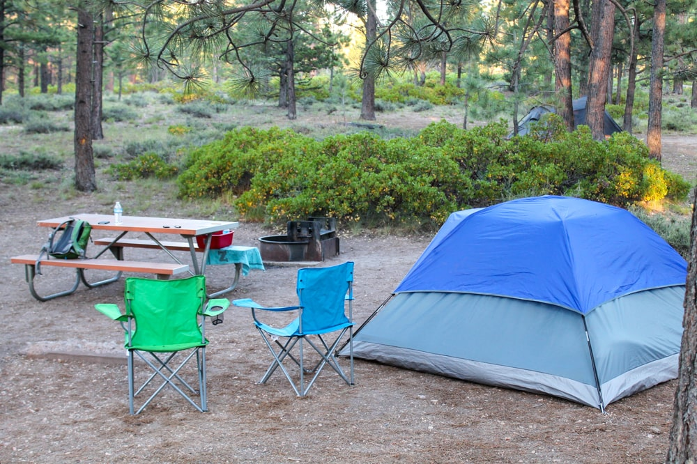 Sunset Campground in Bryce Canyon National Park