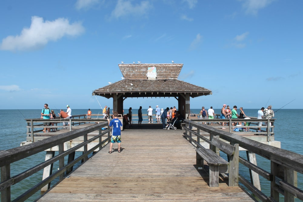 De pier in Naples - Florida