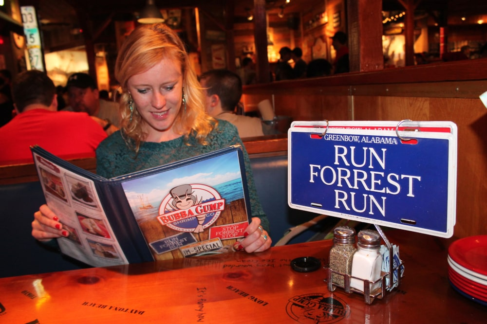 Restaurant Bubba Gump in Orlando