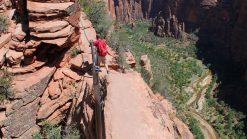 Angels Landing - the scariest hike in the USA - Zion National Park