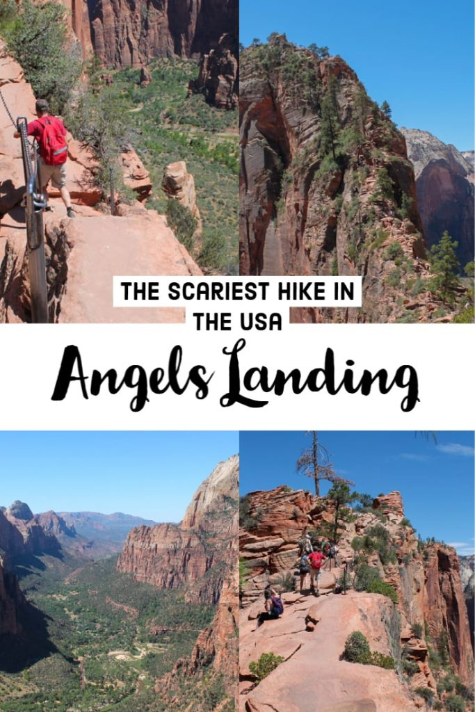 Angels Landing in Zion National Park - the scariest hike in the USA