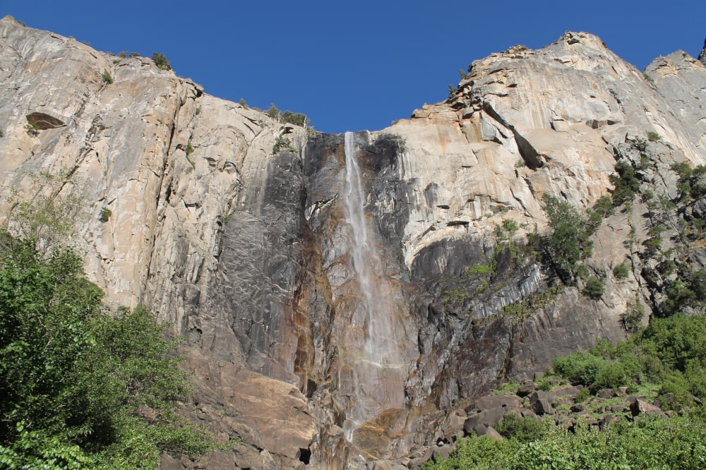 Bridalveil Fall in Yosemite National Park