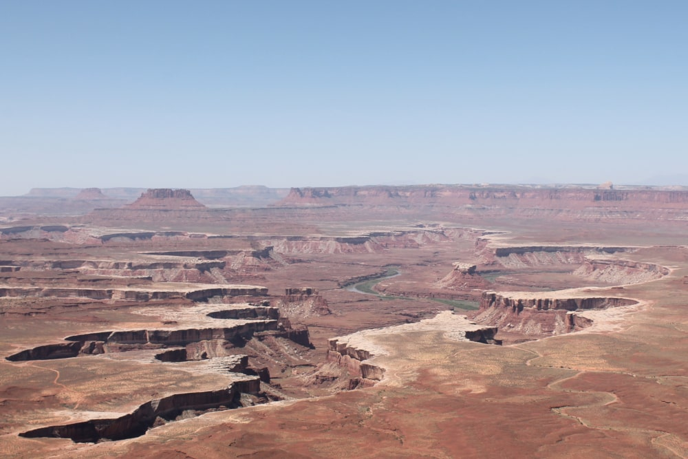 Canyonlands National Park overlook