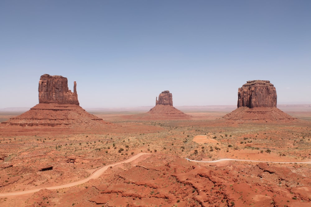 De buttes van Monument Valley-min
