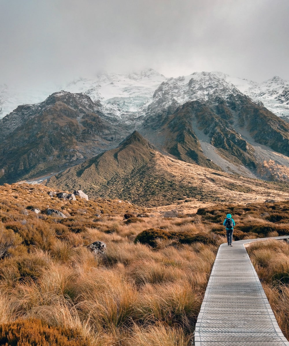 Hooker Valley Track - New Zeeland