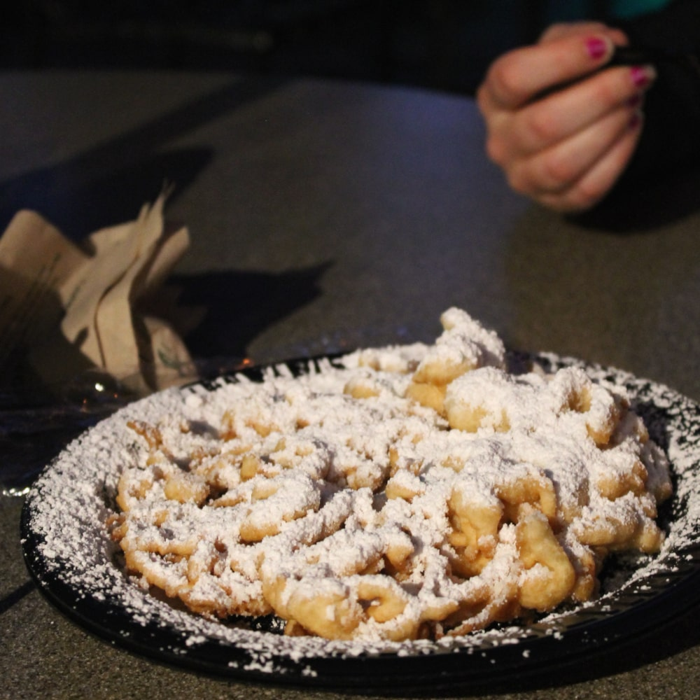 Funnel cake in Florida
