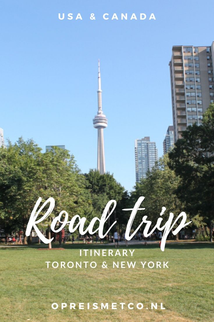 Northeast road trip itinerary - Toronto to New York City
