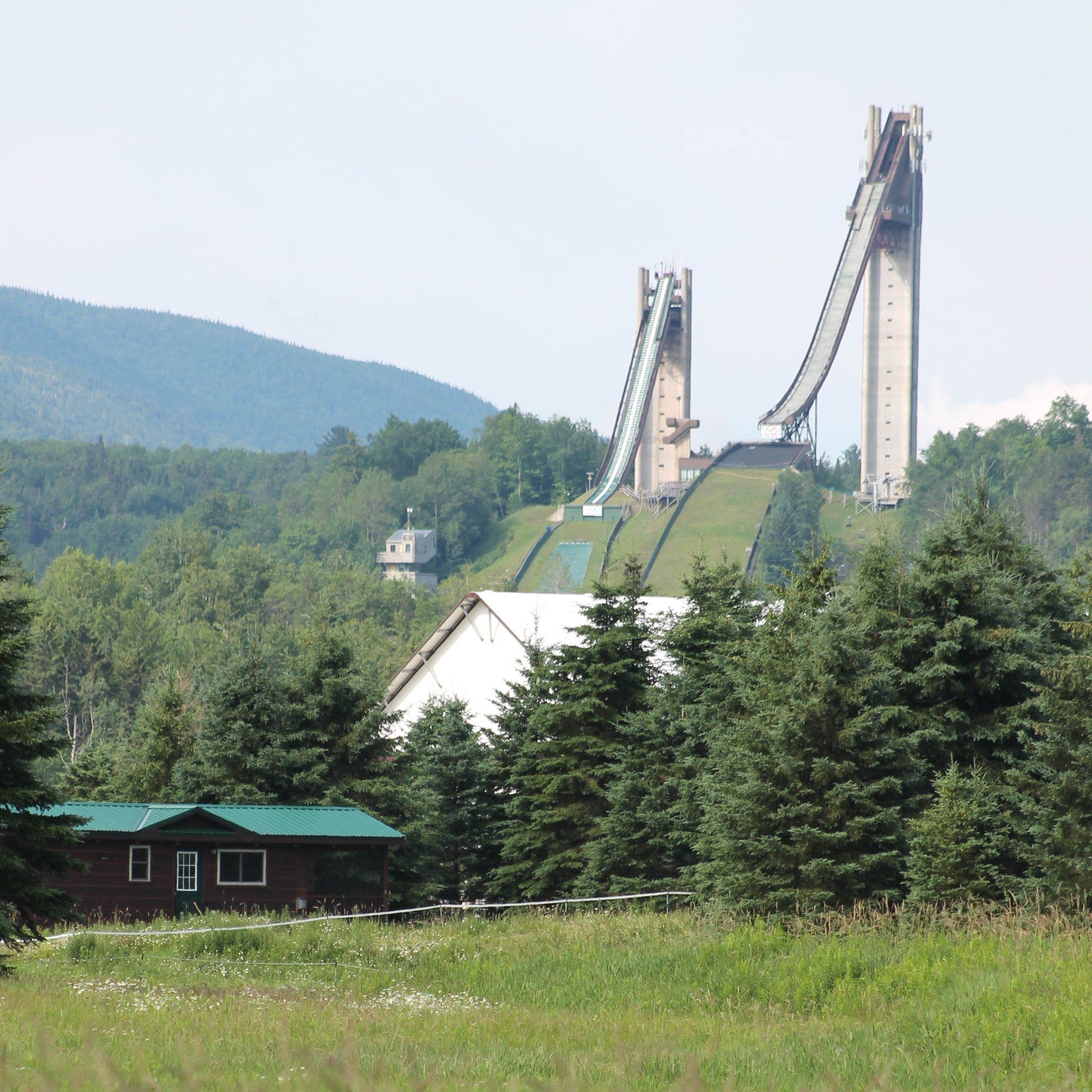 Olympic Ski Jumping Complex in Lake Placid.