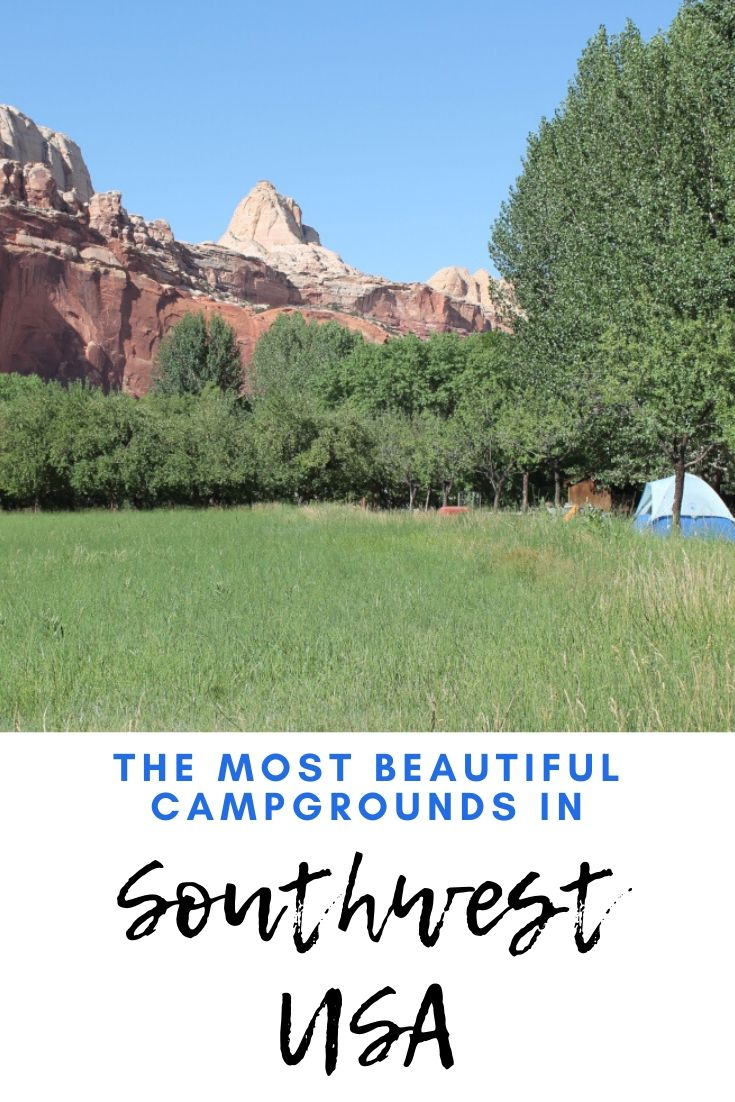 Camping in Southwest USA - the most beautiful campgrounds
