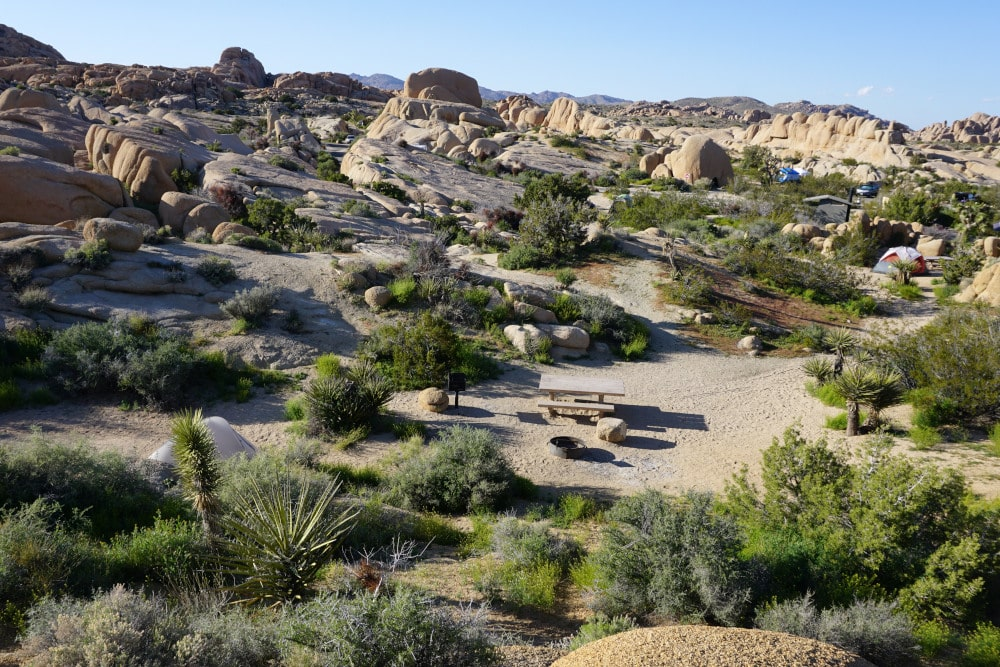 Jumbo Rocks Campground - Joshua Tree National Park