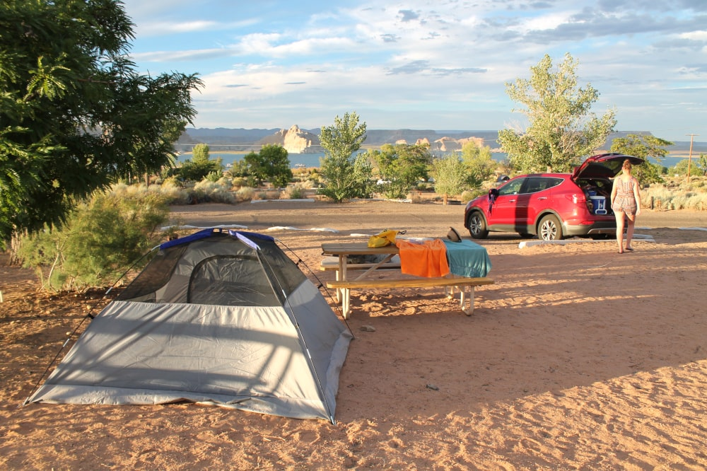 Wahweap Campground in Page - Arizona