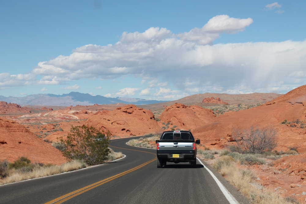 Valley of fire - route