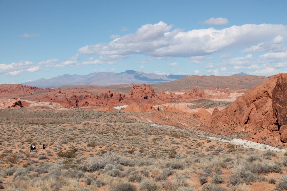 Valley of fire - uitzicht