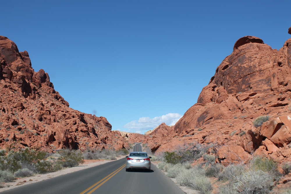 Valley of fire - weg