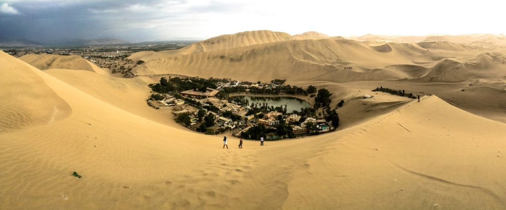 Reisroute in Peru - Huacachina