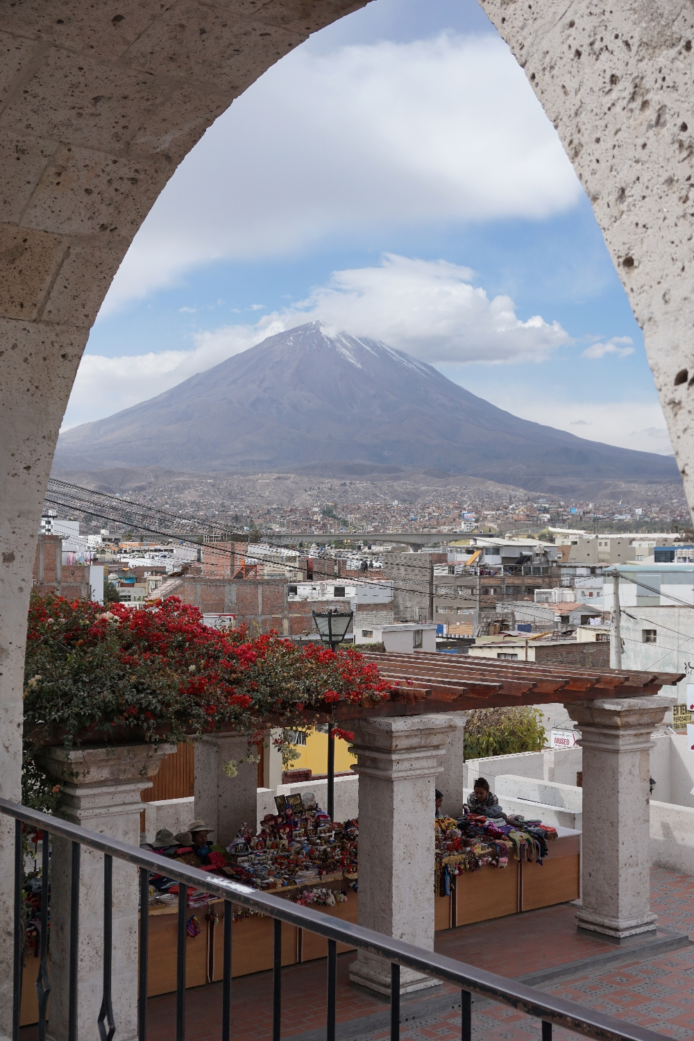 Arequipa - viewpoint Misti