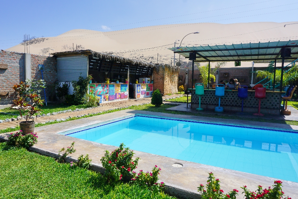 Huacachina - The Upcycled Hostel