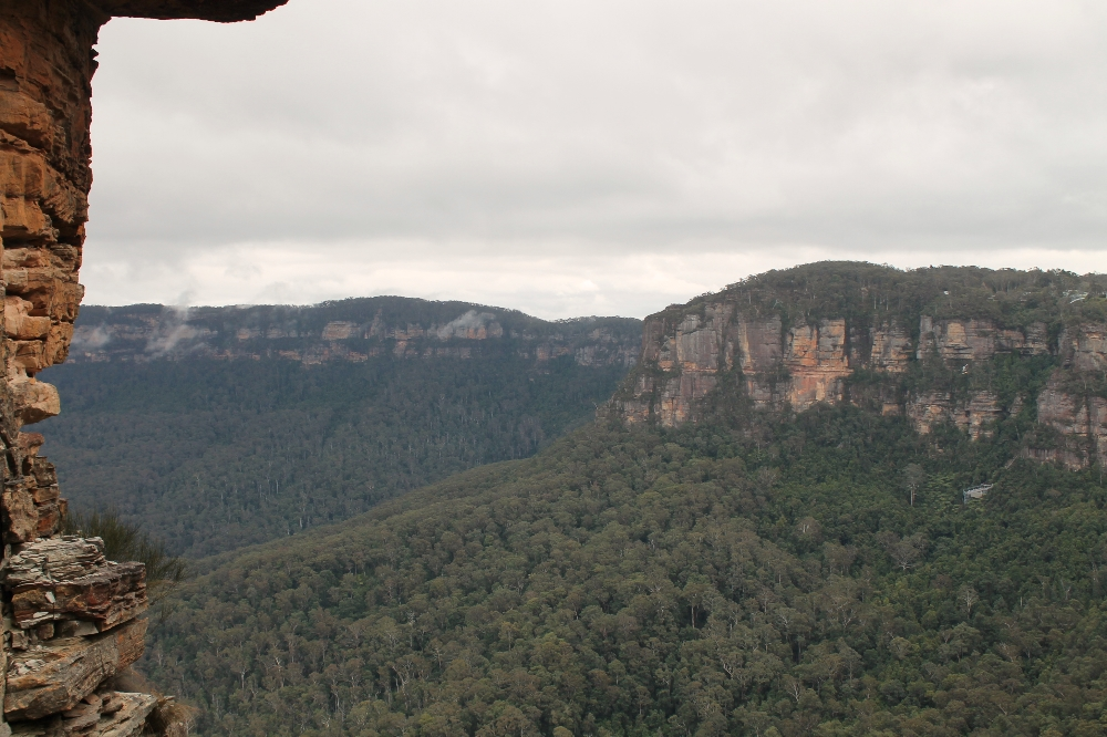 View from the Three Sisters