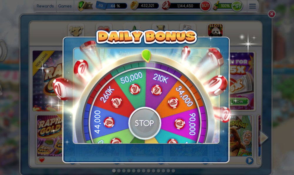 MyVegas Daily Spin