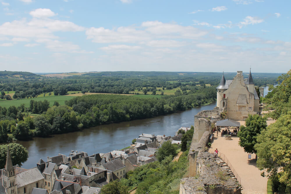 Kastelen in de Loire - Chinon
