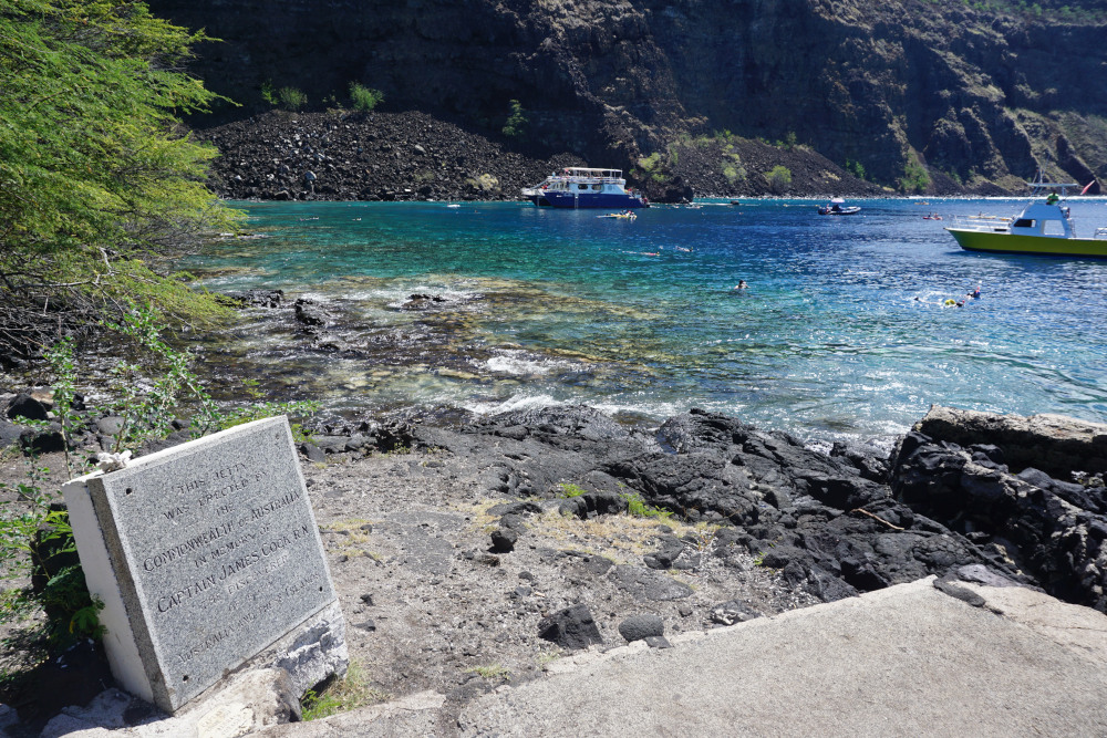 Hawaii - The Big Island - Snorkelen bij het James Cook Monument