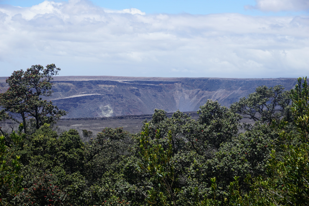 Hawaii - The Big Island - Volcanoes National Park - Krater 2