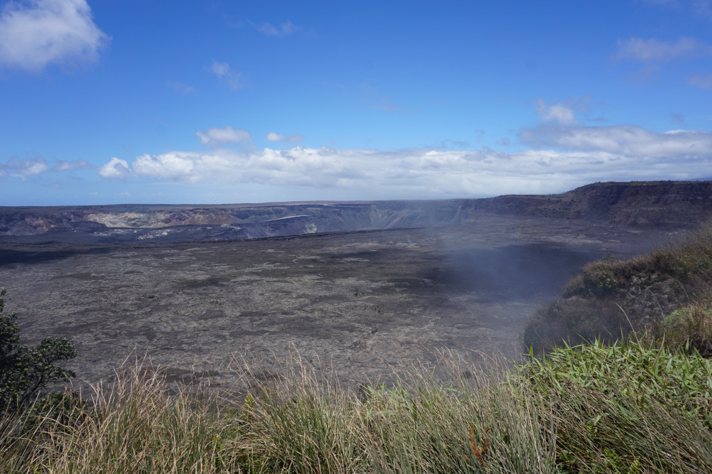 Hawaii - The Big Island - Volcanoes National Park - Krater
