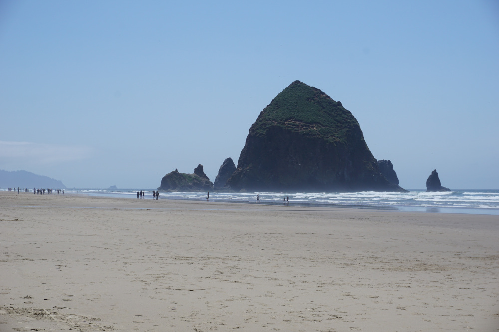 Kust Oregon - Haystack Rock Cannon Beach