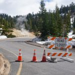 Terug in Californie - Lassen Volcanic National Park