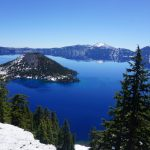 Via de kust van Oregon naar Crater Lake National Park