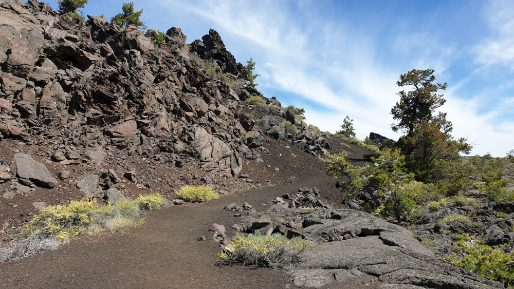 Craters of the Moon National Monument - Trail rondom Broken Top