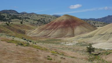 Painted Hills en Bridge of the Gods - Mijn laatste dagen in Amerika