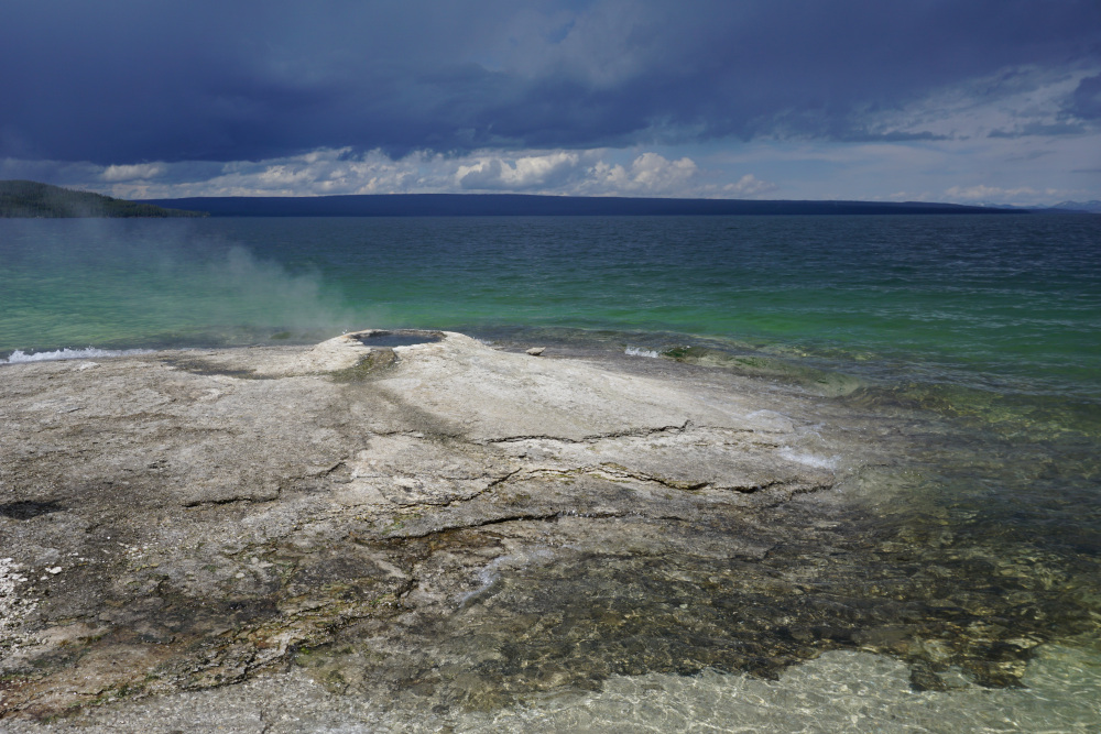 West Thumb Geyser Basin Big Cone