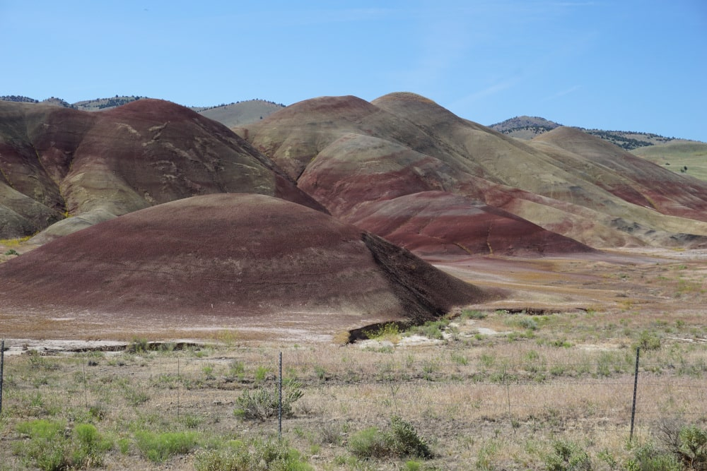 John Day Fossil Beds National Monument - Painted Hills District