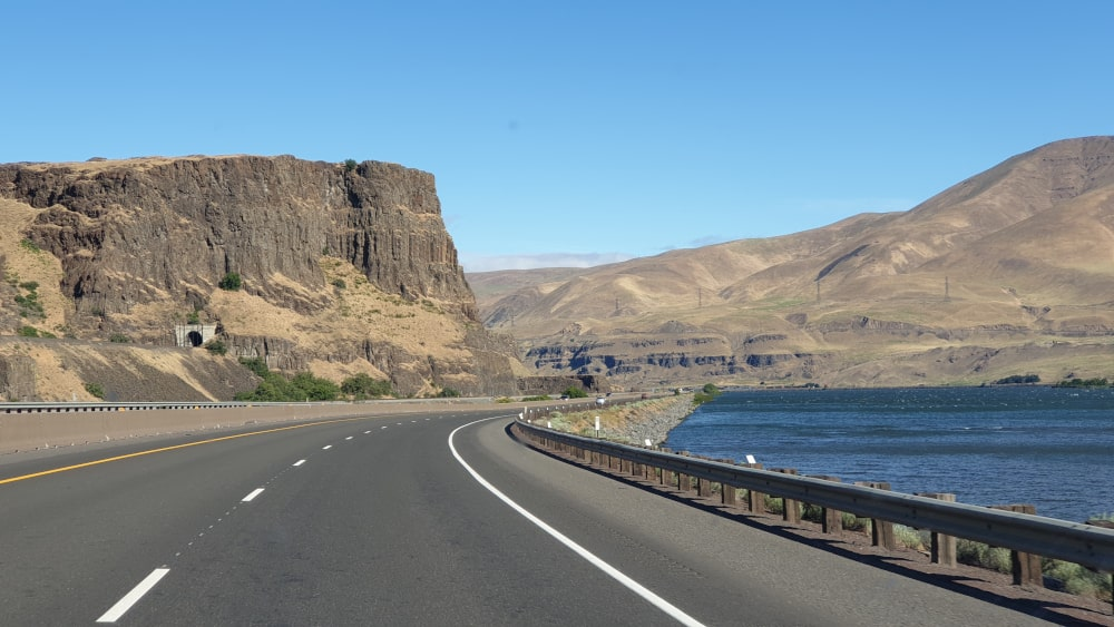 Follow the Columbia River
