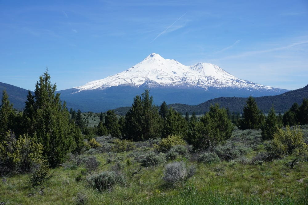 Mount Shasta in Californa