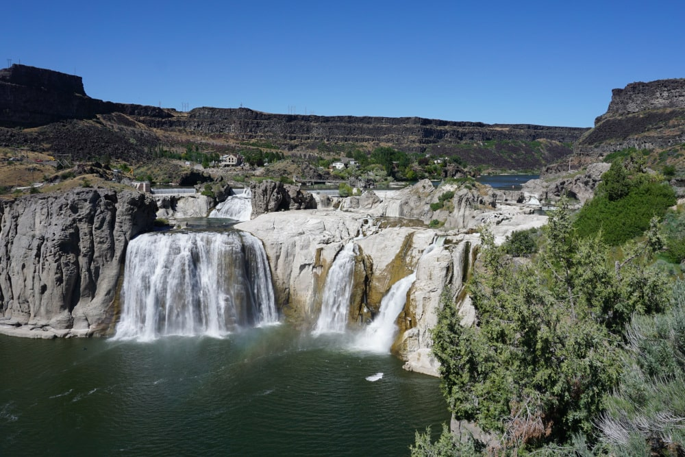 Shoshone Falls in Twin Falls - Idaho