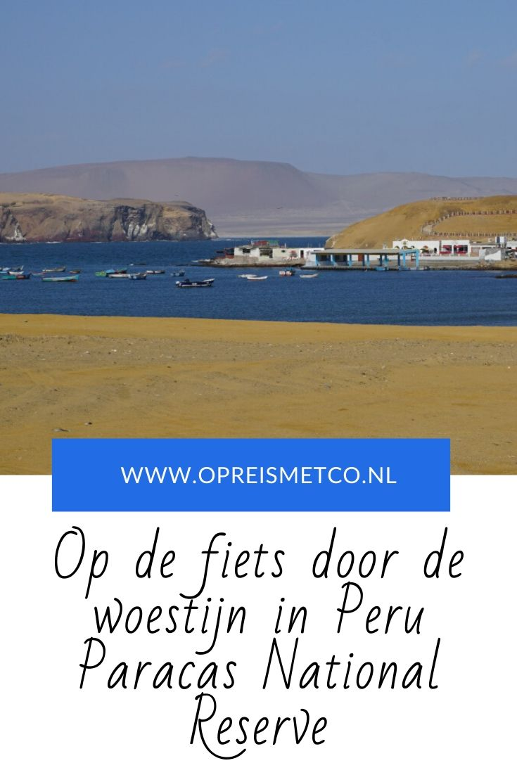 Fietsen in Paracas National Reserve - Peru