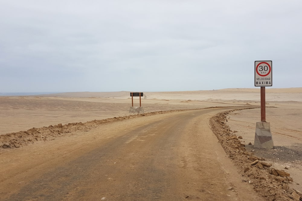 Fietsen in Paracas National Reserve - Peru-min