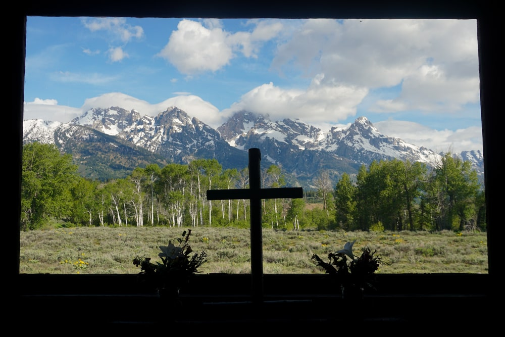 Chapel of the Transfiguration in Grand Teton National Park