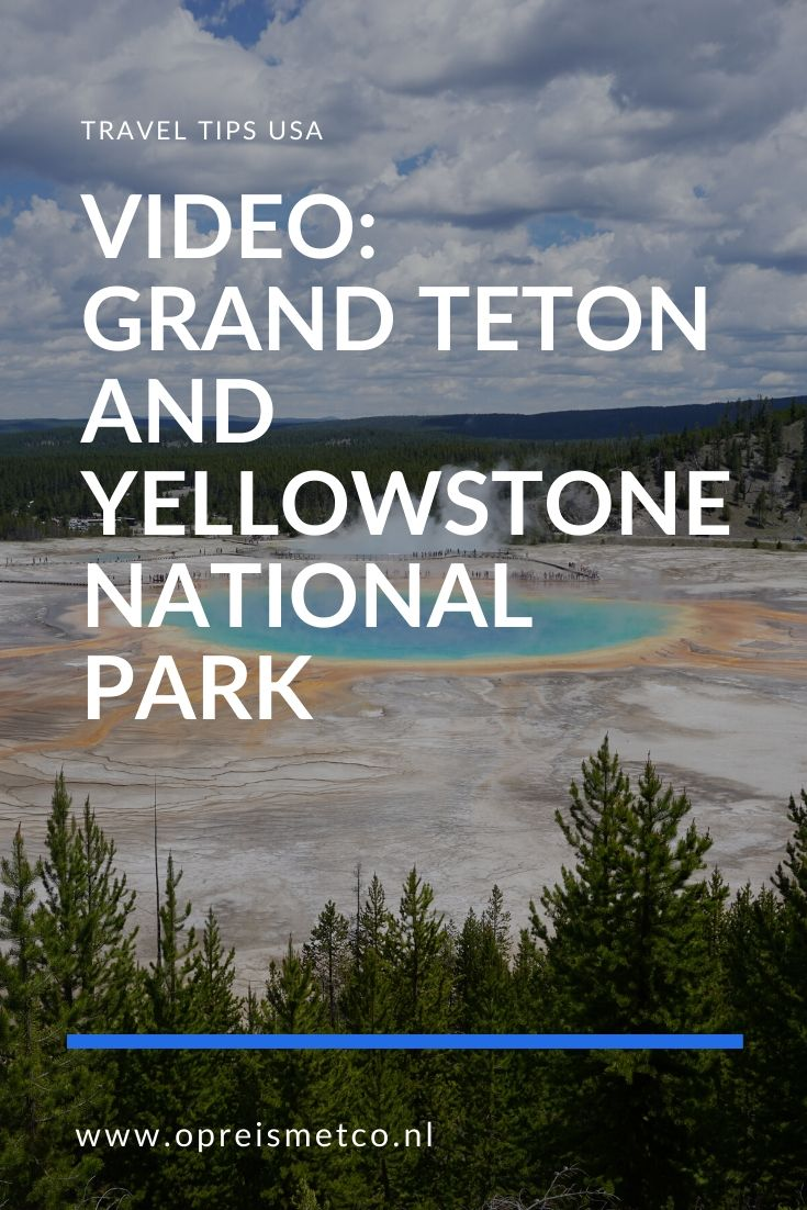 Video Grand Teton and Yellowstone National Park