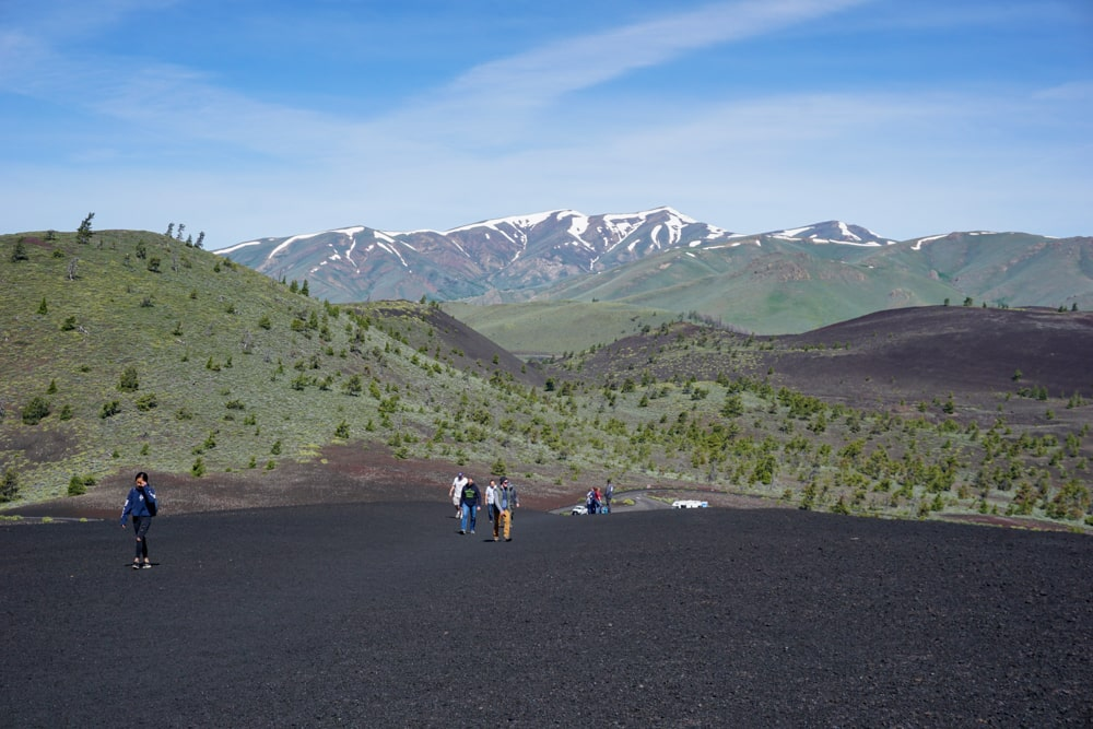 Inferno Cone hike - Craters of the Moon