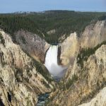 Wandelen langs de Grand Canyon of the Yellowstone