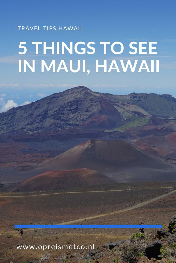 First time in Maui - 5 things to do