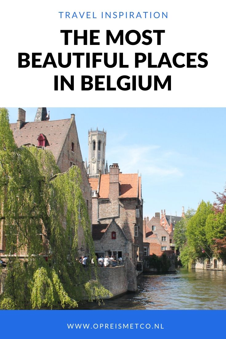 Bucket list - The most beautiful places in Belgium